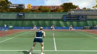 Virtua Tennis 2009 PC Gameplay