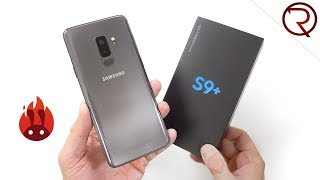 Samsung Galaxy S9 Plus Unboxing & Benchmark Results