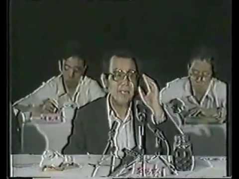 原天津市长李瑞环谈维护社会稳定