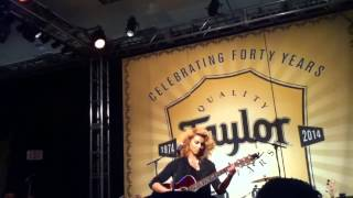 "Tori Kelly - ""Rocket"" & ""Blackbird"" NAMM 2014"