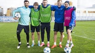 «Зенит» — «Валенсия»: открытая тренировка