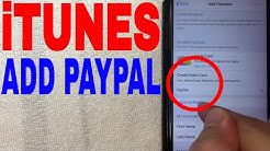 ✅  How To Add Paypal To iPhone iTunes As Payment Method 🔴