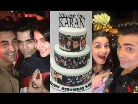 Karan Johar Birthday Party 2017 - All Bollywood Stars Attend