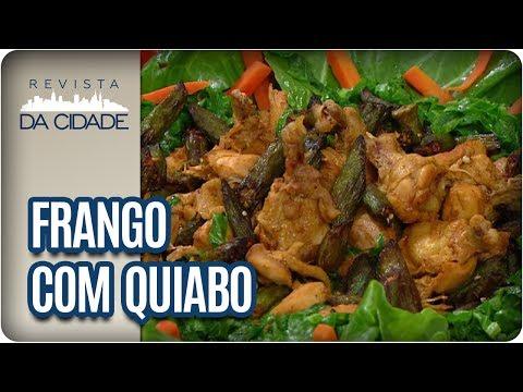 Receita De Frango Com Quiabo - Revista Da Cidade (27/07/2017)