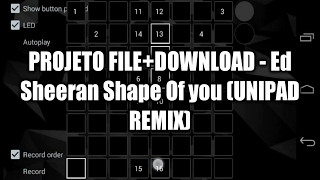 UNIPAD - Ed Sheeran Shape Of You (UNIPAD REMIX) Mp3