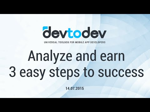 Analyze and earn - 3 easy steps to success