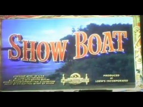 Showboat (1951) 1988 MGM Musicals Laserdisc Opening