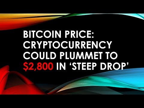 Bitcoin Price  Could PLUMMET To $2,800 In 'STEEP DROP'  Daily Update By Asim 17 March 2018