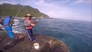 20180307 東北角磯釣 釣卡大 泡豆釣魚實況-倒吊,鸚哥,大雀鯛篇
