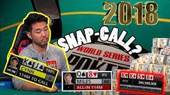 John Cynn winning the 2018 WSOP Main Event vs a CRAZY BLUFF