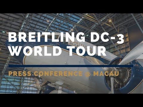 Breitling DC-3 World Tour 2017 in Macau