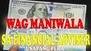 Wag maniwala sa financial adviser. Financial tip
