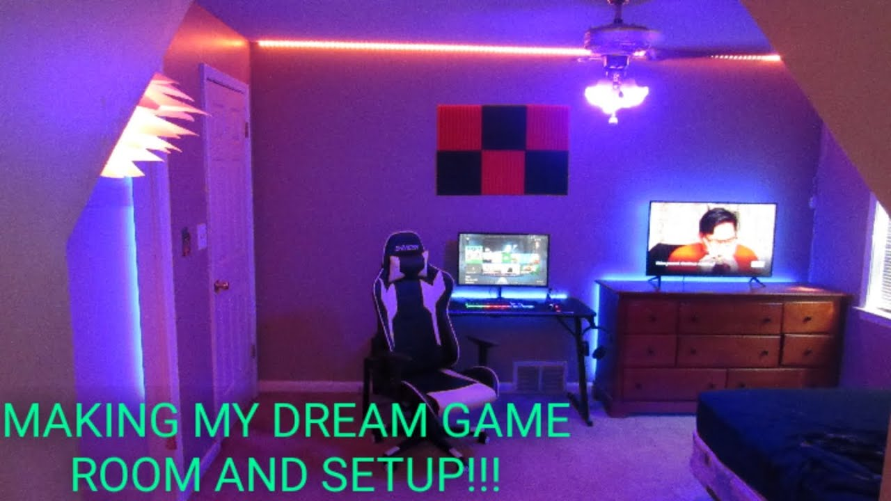 Building My Dream Gaming Setup And Dream Gaming Room Youtube