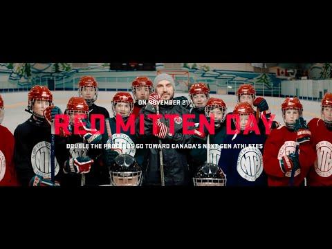 Red Mitten Day November 21, 2018 - Team Canada