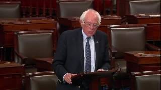 "Bernie Sanders 6-26-17 speaking about Republican ""health care"""