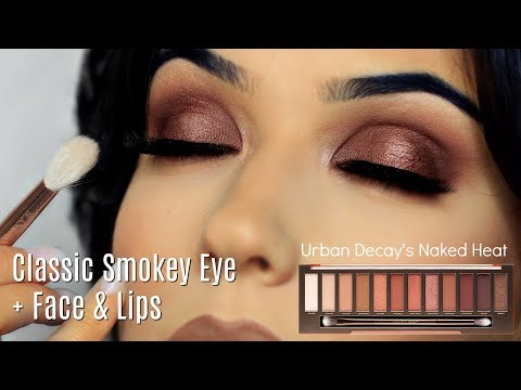 Makeup Tutorial | Smokey Eye Makeup Look + Face & Lips | TheMakeupChair thumbnail