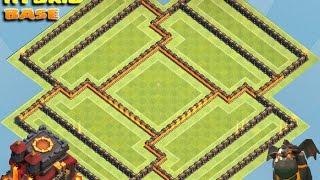 Clash of Clans Town Hall 10 (TH10) Defense [Farming Base, Hybrid Base]