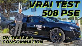 Vrai test de consommation de la nouvelle 508 PSE | Peugeot Berbiguier Cavaillon