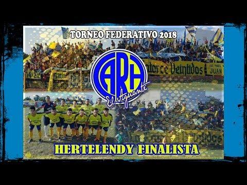 HERTELENDY A LA FINAL:  JUGARA ANTE JUVENTUD DE NAINECK.
