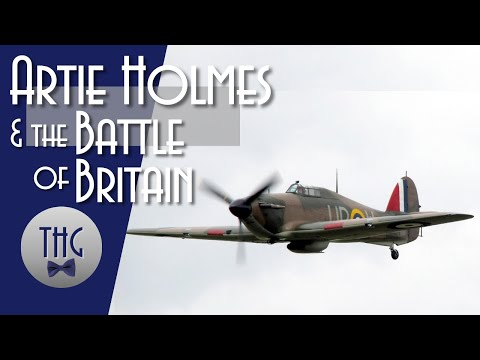 the-battle-of-britain-and-artie-holmes'-hurricane