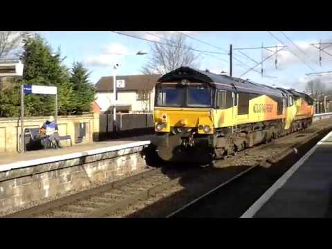 UK Freight Trains At Speed 2016