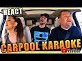 Ariana Grande & James Corden KARAOKE - Marcio Guerra Reagindo React Reação