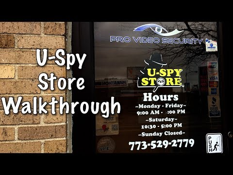U-SPY STORE: Chicago Store Tour
