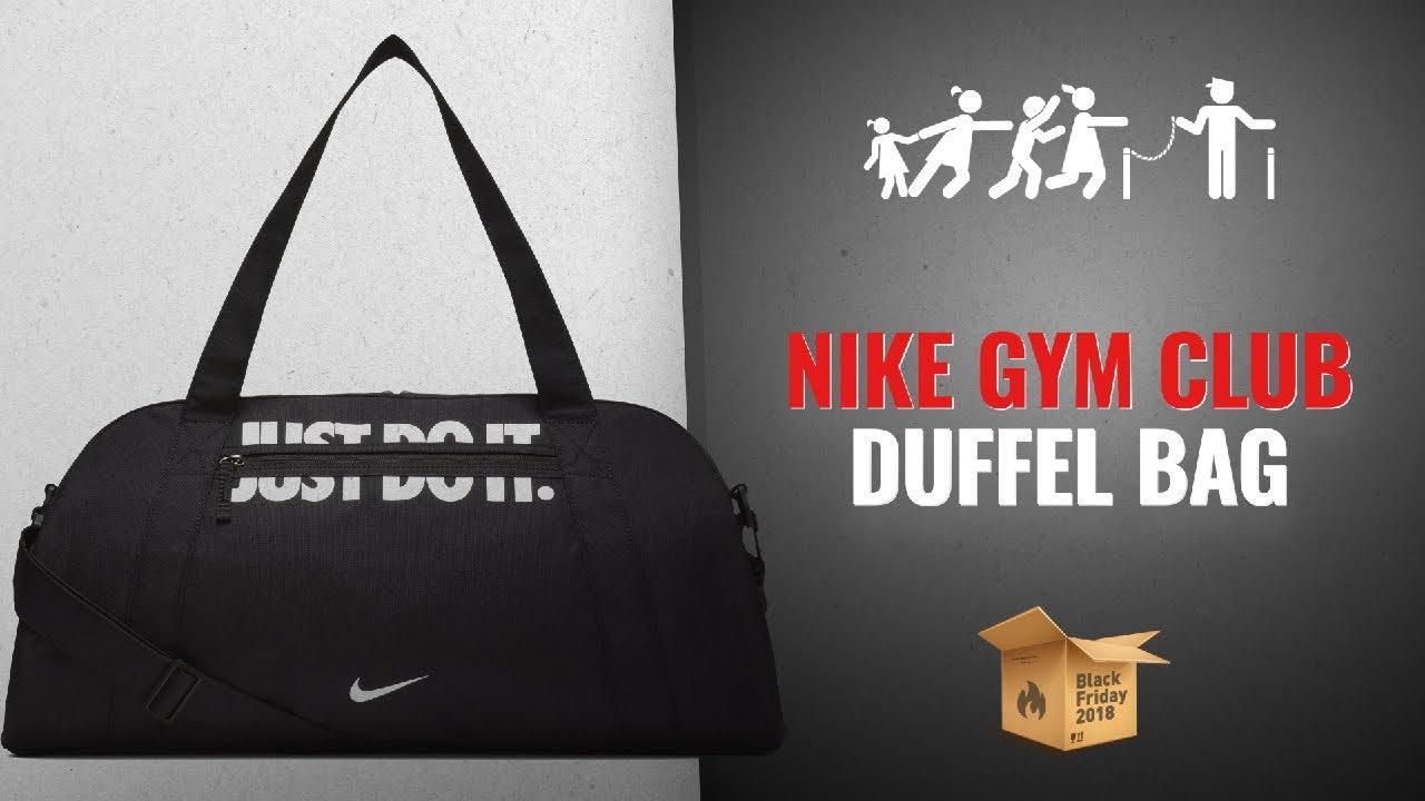 Save Big On NIKE Women Gym Club Duffel Bag Black Friday   Cyber ... 3f8e5b6ffa5c7