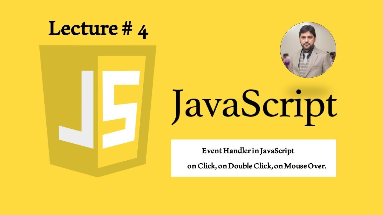 Event Handler in JavaScript on Click, on Double Click, on Mouse Over  (4)