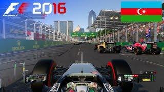 F1 2016 - 100% Race at Baku City Circuit, Azerbaijan in Pérez' Force India