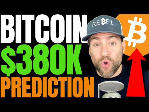 BITCOIN TO SKYROCKET 100X THE PRICE OF GOLD, SAYS TOP BLOOMBERG ANALYST!! $380K MASSIVE BTC ASCENT!!