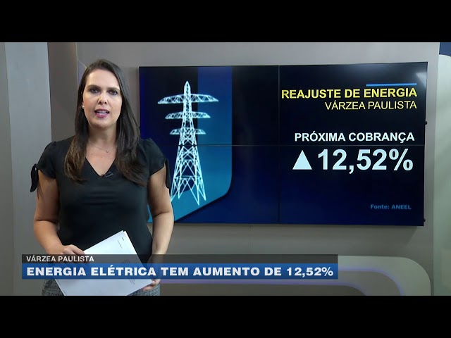 Várzea Paulista: energia elétrica tem aumento de 12,52%