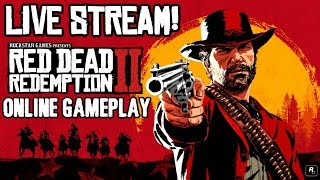 Red Dead Redemption 2 Online Live Stream! (First Elgato Stream)