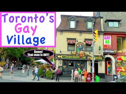❤️💛 Toronto's Gay Village 💜💙