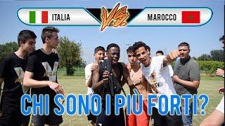 Italia VS Marocco - Botta e Risposta e Sfida a CALCIO ● ITALIANI vs MAROCCHINI