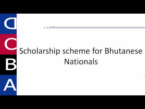 Scholarships for Bhutanese Nationals