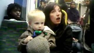 Racist London Tram Lady 2011 - Emma West of New Addington in Croydon - CAUGHT ON CAMERA!!!