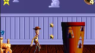 Toy Story Action Game/Power Play (PC 1996) Gameplay