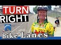 How to Turn Right With Bicycle Lanes to Pass Your Road Test