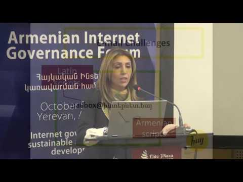 ArmIGF2016 presentations: Lianna Galstyan, .հայ IDN ccTLD update