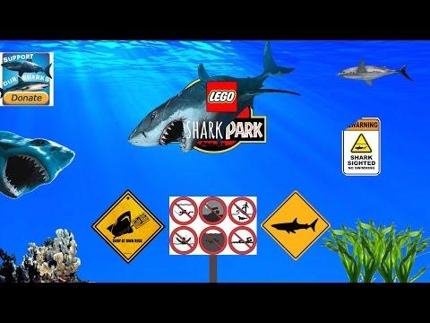 Акула лего игры