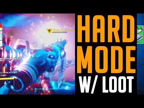 Destiny Wrath of the Machine HEROIC MODE/ Hard Mode & Hard Mode Loot