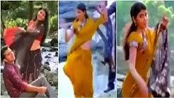 Shivadha nair unseen navel show