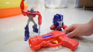 180909 Toy Gun Part 2 - Shoot the Transformers!!!
