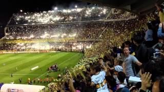 El conmovedor recibimiento a Boca en la Bombonera (Superclásico - Sudamericana 2014)