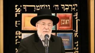"""הרב ישראל מאיר לאו שליט""""א, רבה של ת""""א ורב הראשי לישראל לשעבר"""