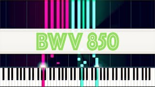 Prelude and Fugue in D major, WTC I, BWV 850 // J. S. Bach