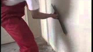 Видеоурок ремонта- как отделывать стены стеклообоями
