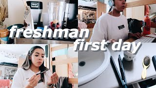 First Day of College GRWM VLOG! Belmont University