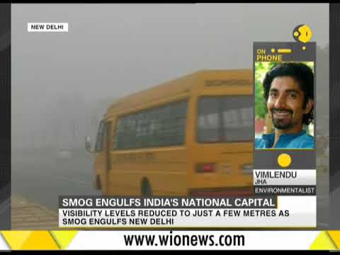 Smog engulfs India's national capital
